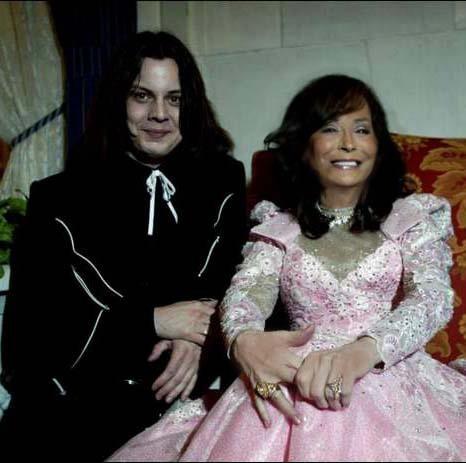 Loretta Lynn and Jack White