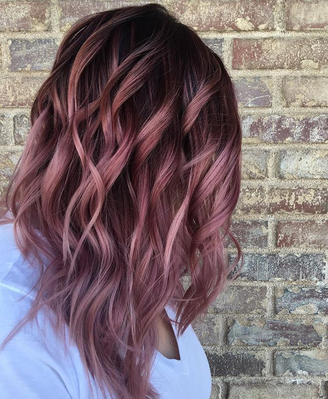 The 25 Best Balayage Pink Ideas On Pinterest Color