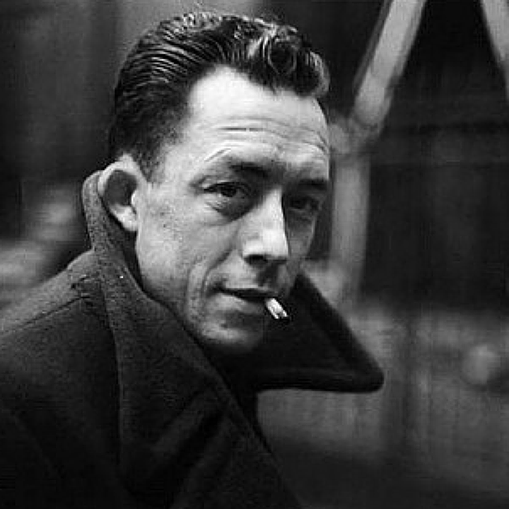 Albert Camus: I like people who dream or talk to themselves...I like them for they are double. They are here and elsewhere. #peopleilike #AlbertCamus