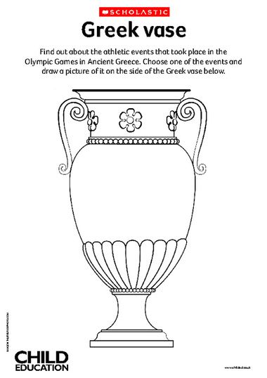 Decorate A Greek Vase Primary Ks2 Teaching Resource Scholastic