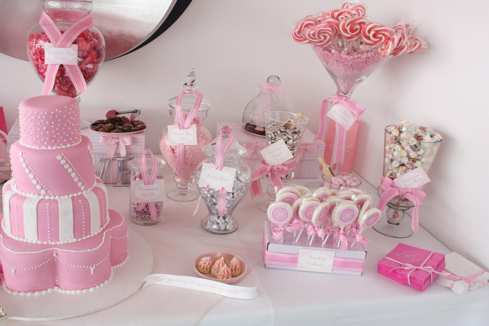 dessert bar! | Bautizo | Pinterest | Wedding candy buffet, Wedding ...