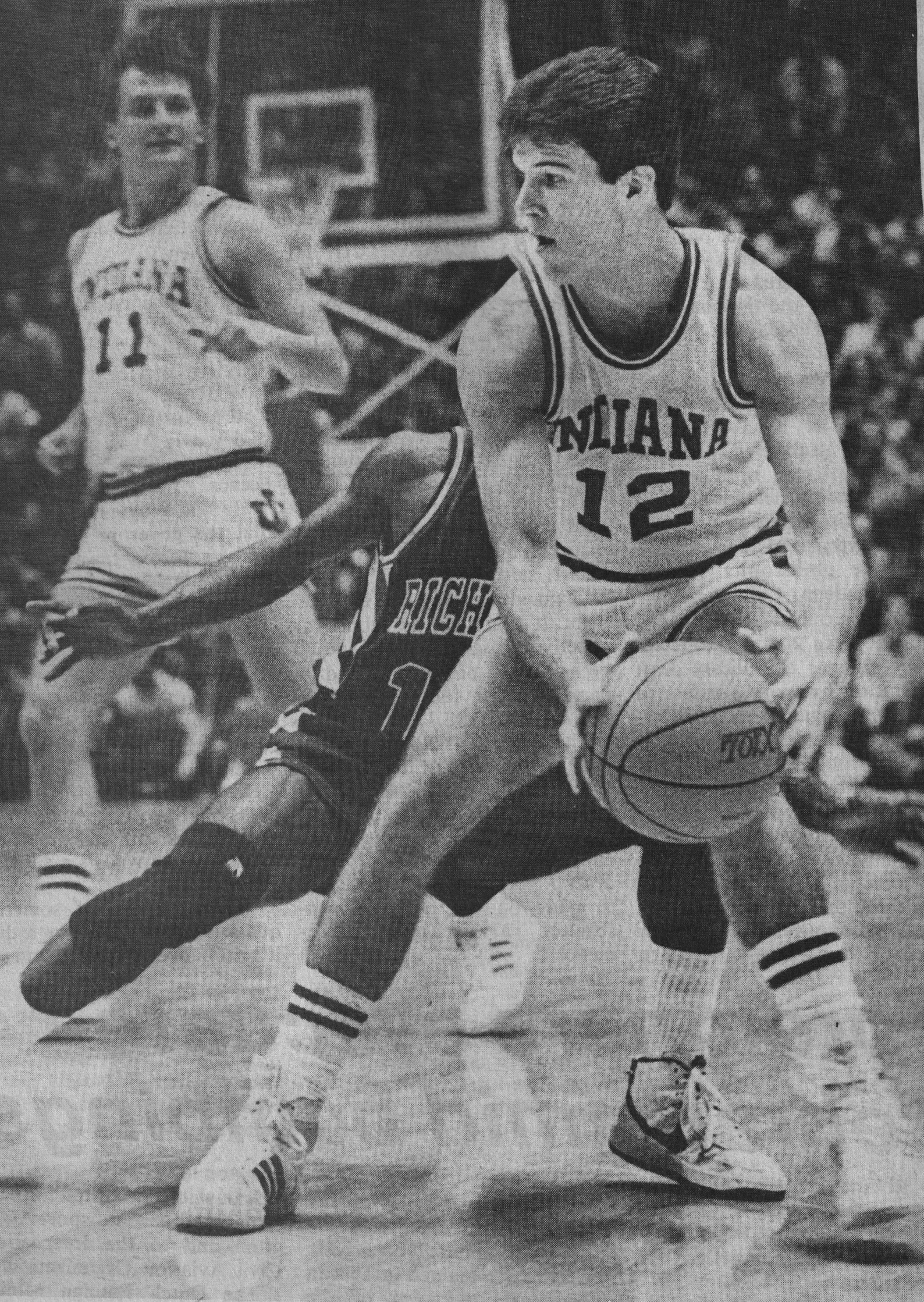 Pin On Steve Alford Indiana White