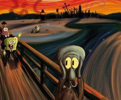 Where Edvard Munch got his inspiration ~ The Scream ...I can hear that theme song now!