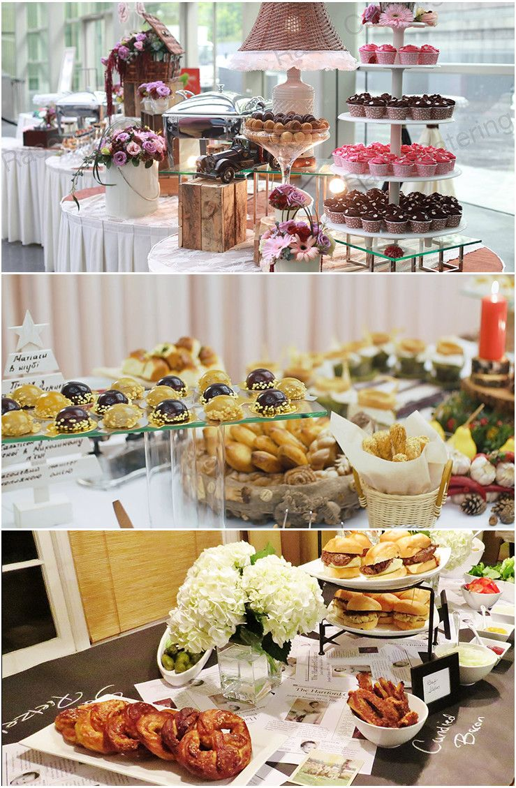 A complete buffetstyle dining for your guests that you