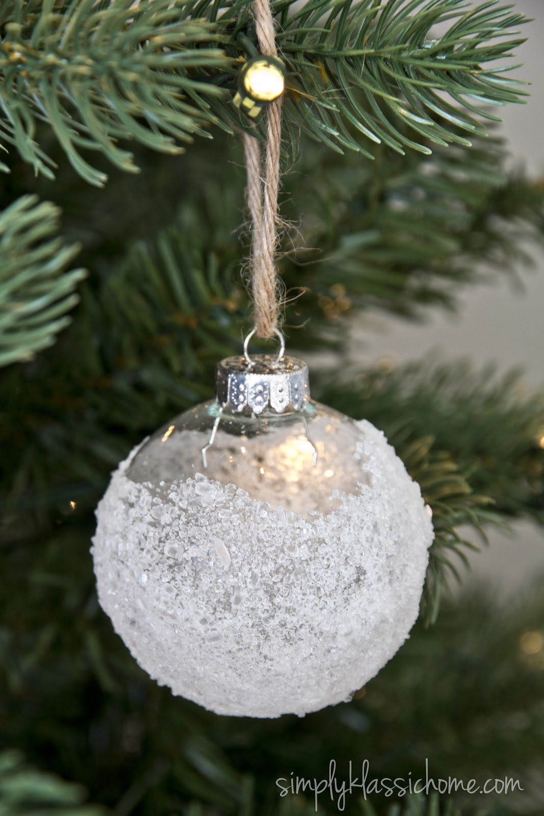 Simply Klassic Home: Ten Handmade Ornaments in Under An Hour
