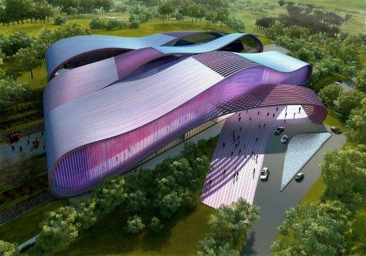 Futuristic Architecture, Bollywood Museum Yazdani Studio of Cannon  #architecture ☮k☮