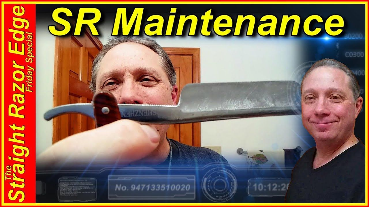 Care and maintain for your straight razor straight razor