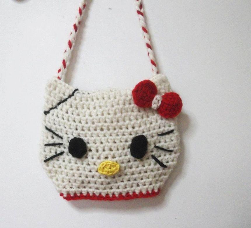 Hello Kitty Bag Easy Crochet Pattern Crafty Pinterest Easy
