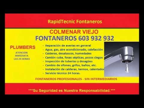 Fontaneros Colmenar Viejo 603 932 932