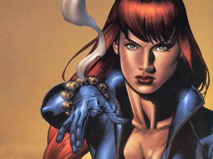 Black Widow Natalia Romanova Natasha Romanoff Female Comic