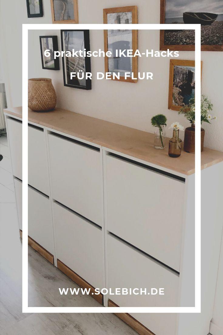 6 praktische IKEA-Hacks für den Flur!  Foto: martall #solebich #flur #ikea #ike…