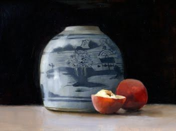 Ginger Jar and  Peaches