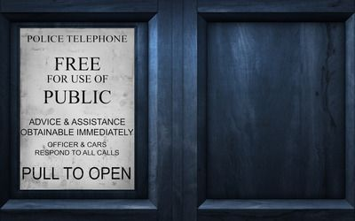 Tardis - Doctor Who TV Show desktop wallpaper download