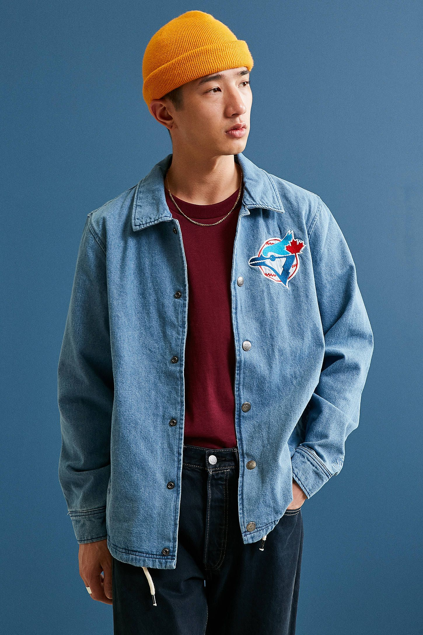 It is a graphic of Adaptable Starter Black Label Jacket Urban Outfitters