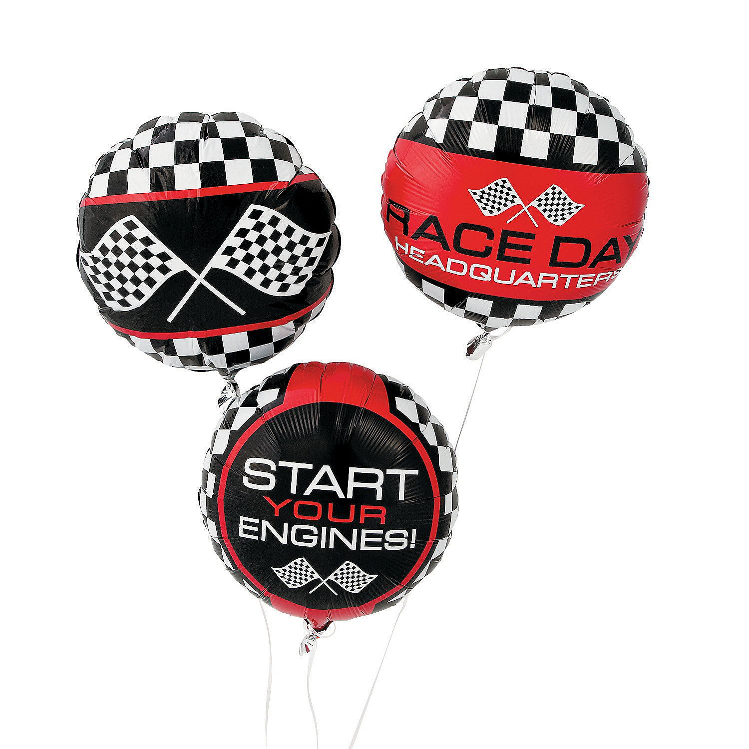 Race Car Themed Balloons