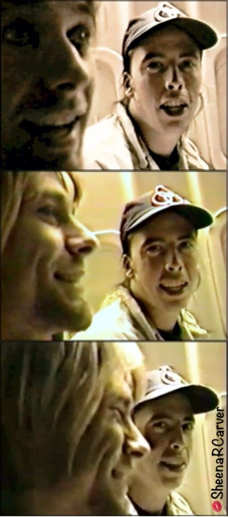 Dave makes Kurt laugh