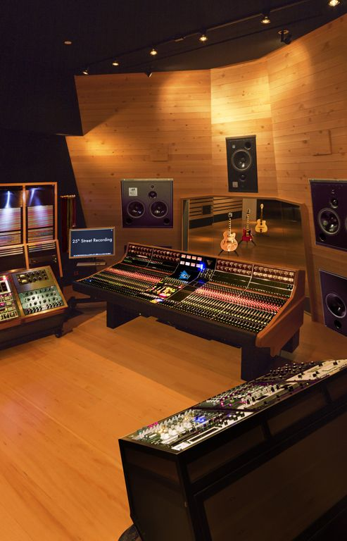 25th Street Recording FM Design Recording Studio Portfolio