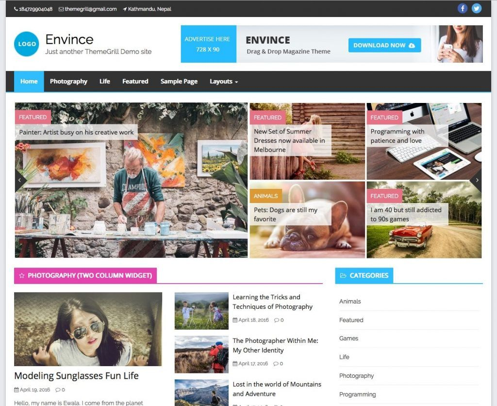 Best Responsive Theme Wordpress Free