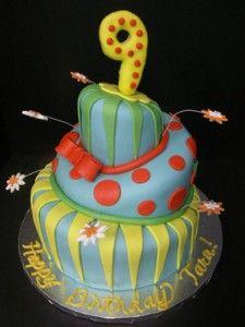 Brilliant Birthday Cake 9 Years Old Girl Birthday Cake Kids Birthday Cake Funny Birthday Cards Online Alyptdamsfinfo