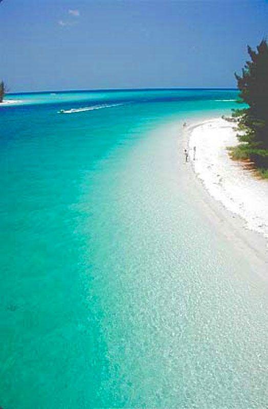 Anna Maria Island Beach In Florida Usa