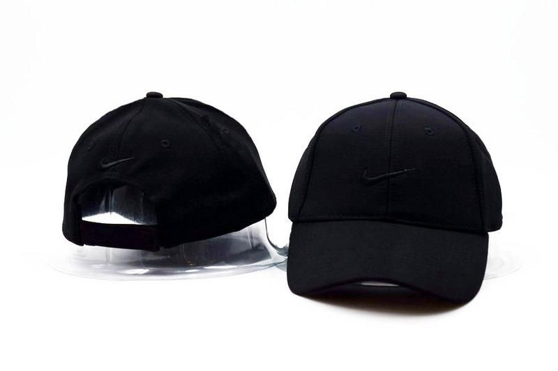 new styles e98e0 f88bf Mens   Womens Unisex Nike The True Nike Embroidery Logo Velcro Closure Back  Baseball Adjustable Hat - All Black