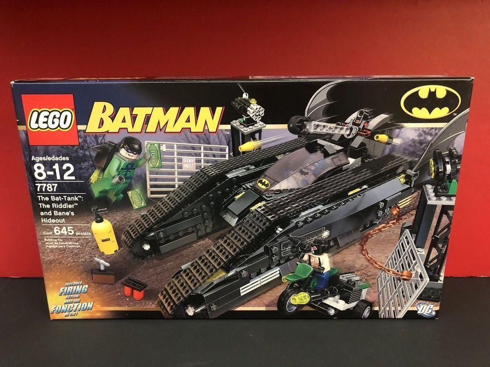 LEGO Batman The BatTank The Riddler and Bane's Hideout
