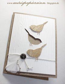 Memory Box Perched Reed Bird Die