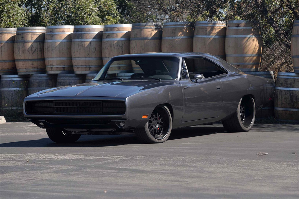 1970 DODGE CHARGER CUSTOM COUPE \'PUNISHMENT\' | Old Rides 6 ...