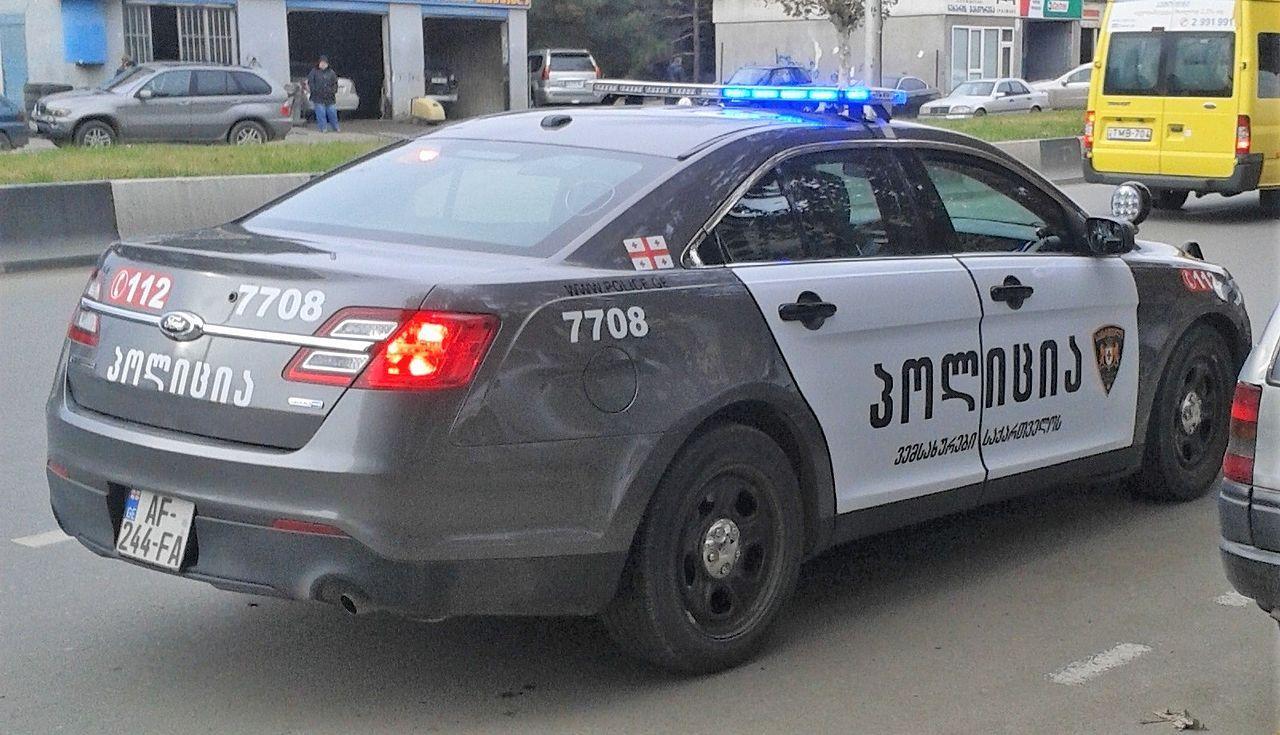 Tbilisi Georgia Georgian Police S New Patrol Car 3 Police