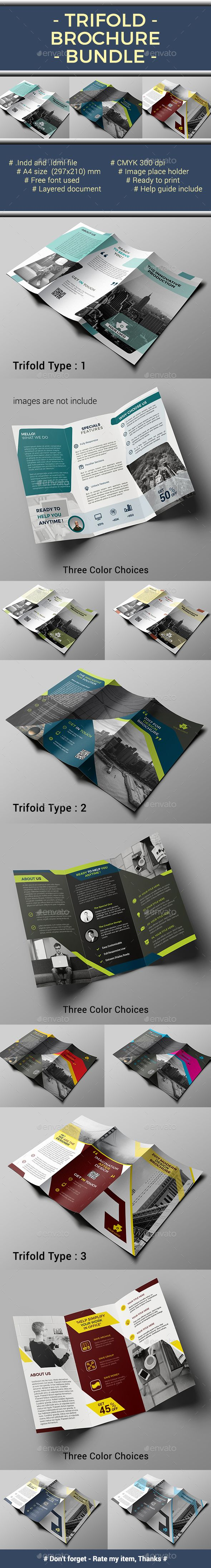 Trifold Bundle | Pinterest | Folletos