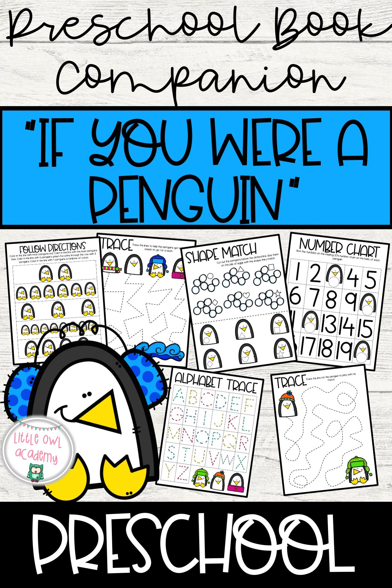 If You Were A Penguin Preschool Story Companion In