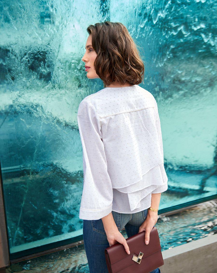 Schnittmuster inkl. Step-by-Step Bluse im Kimono-Stil 02/2018 #111 ...