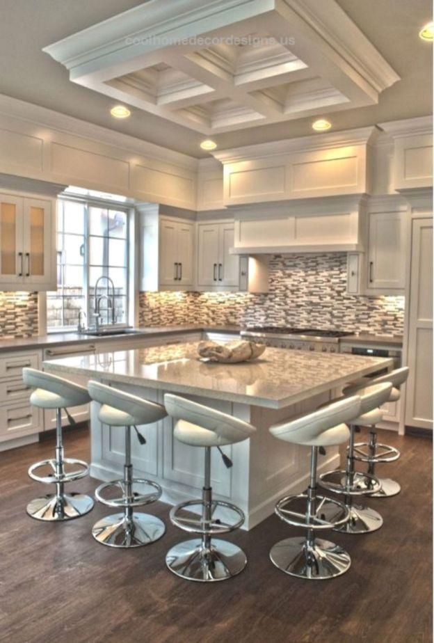 50 Elegant Modern White Kitchen Ideas For Excellent Home 505