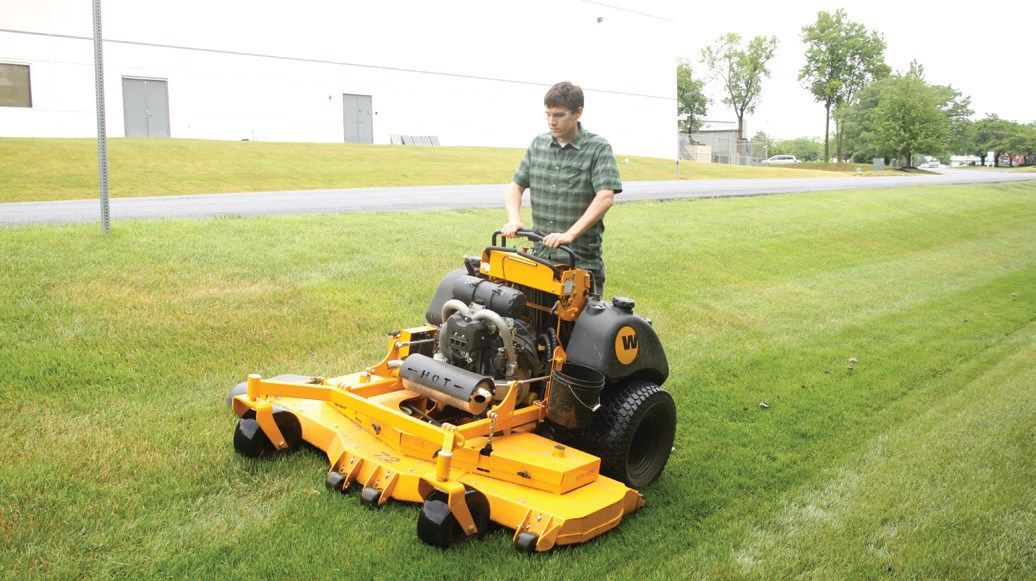 Where Stand-On mowers fit into commercial cutting - Where Stand-On Mowers Fit Into Commercial Cutting Lawn Care And