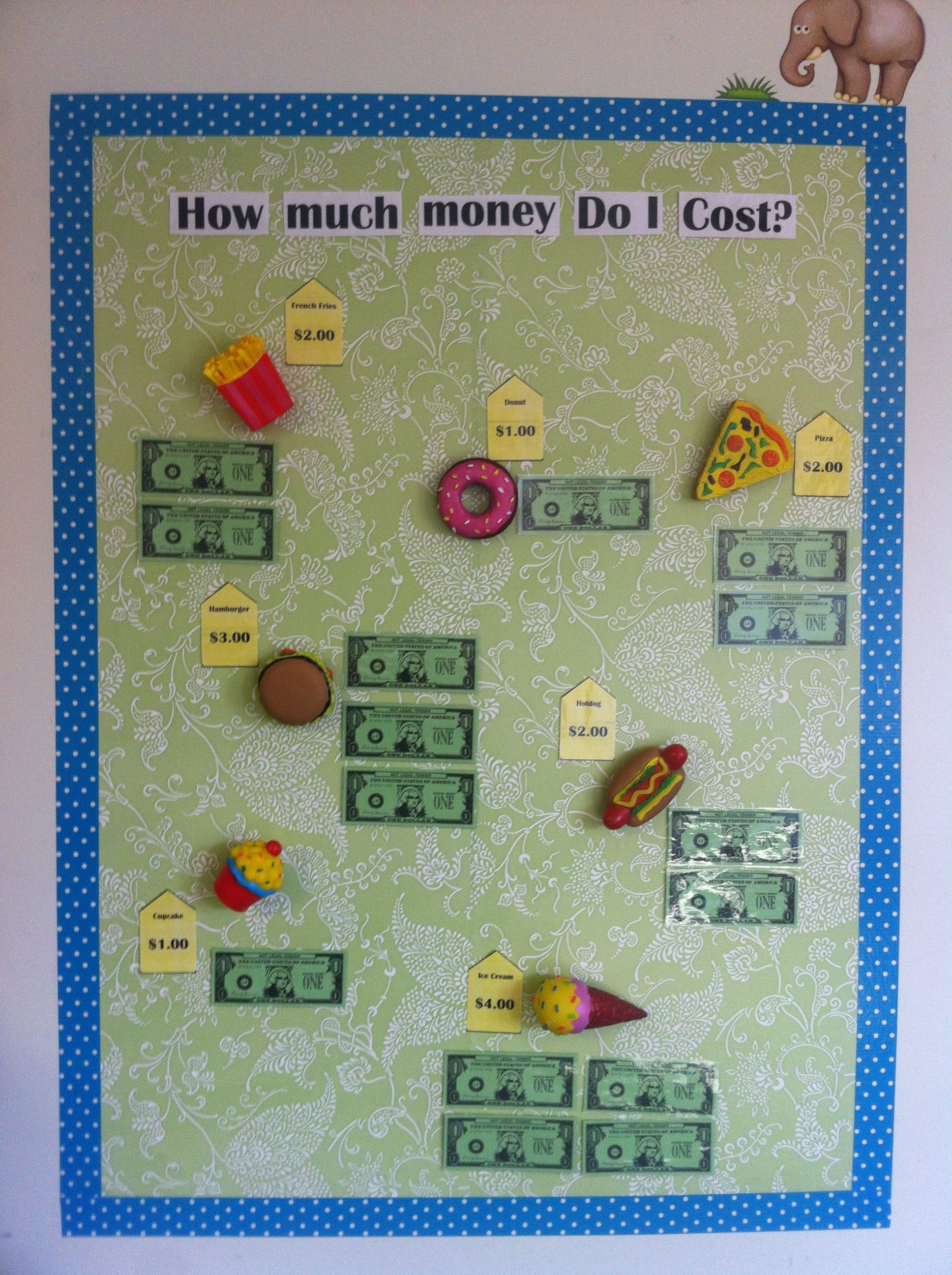 Money Price Matching Bulletin Board Game