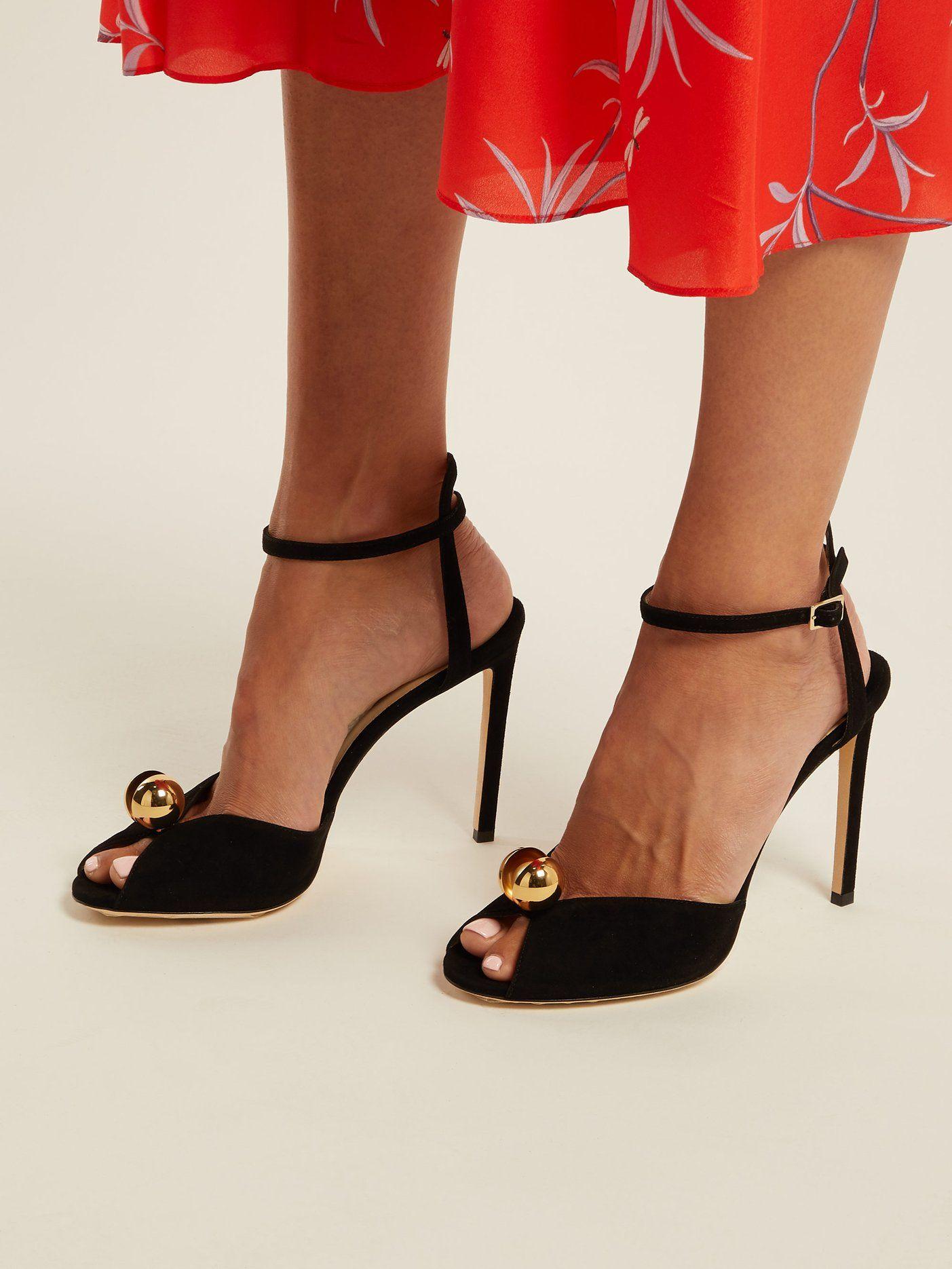 Sacora suede sandals | Jimmy Choo | MATCHESFASHION.COM