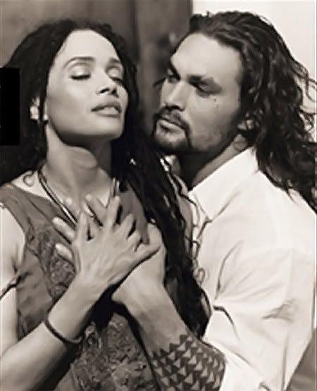Lisa Bonet & Jason Momoa