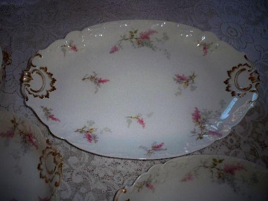 GDA Limoge oval platter