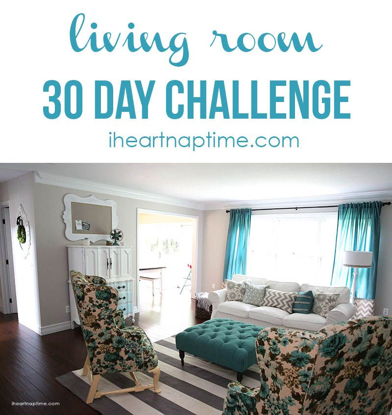 30 day living room makeover!  AMAZING MAKEOVERS! ! I Heart Nap Time | I Heart Nap Time - Easy recipes, DIY crafts, Homemaking
