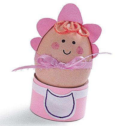 huevos decorados como bebes - Buscar con Google | DIY | Pinterest ...