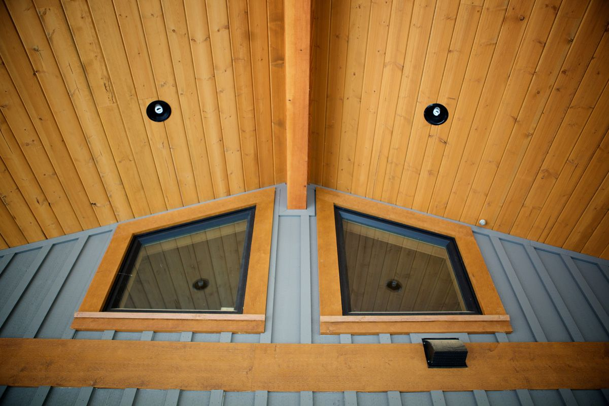 Exterior Ceiling Paneling With A 15 Year Warranty Ceiling Panels Patio Inspiration Wood Ceilings