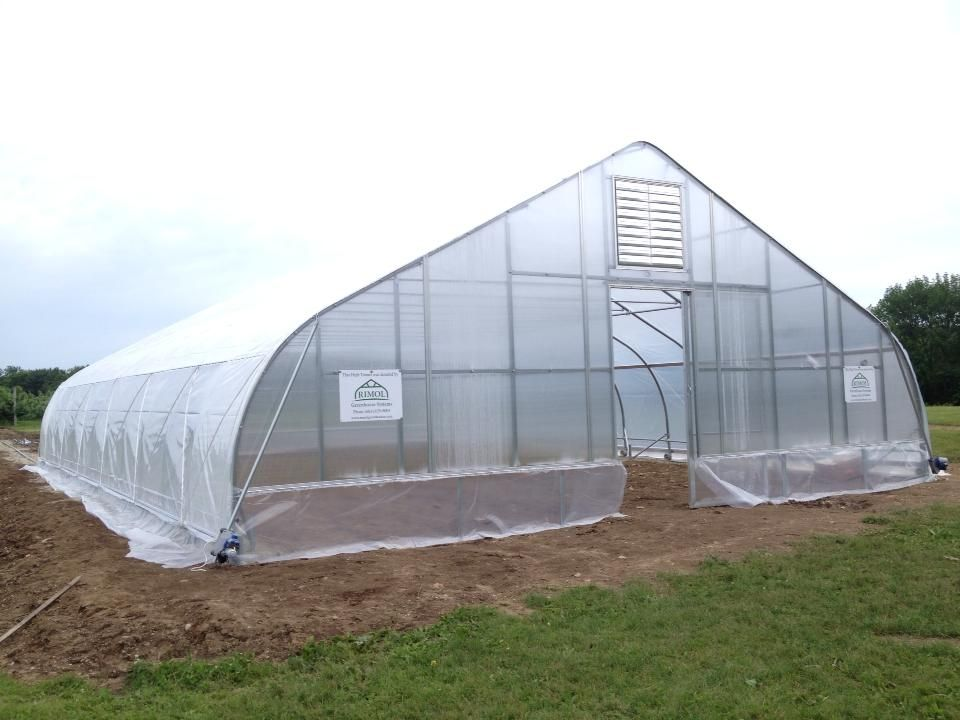 38 x 40 moveable rimol greenhouse donated to unhs facilities - Rimol Greenhouse Of Photos