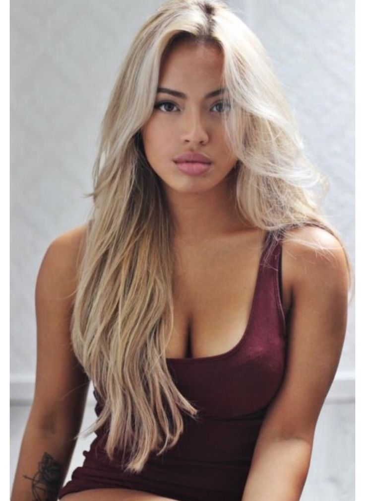 Brown Girls With Blonde Hair Why Not Here Are Some Inspirations
