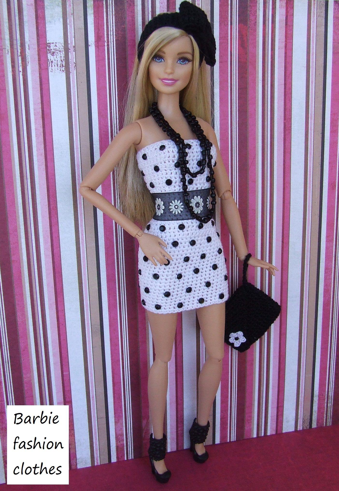 Pin von Anel Lombard auf Barbie fashion clothes | Pinterest | Barbie ...