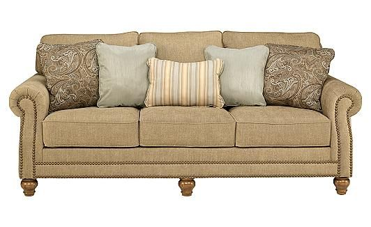 Prelude Champagne Sofa Different Pillows With Images Mattress Furniture Living Room Sofa Furniture