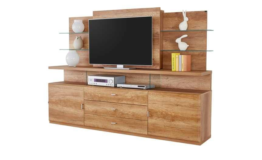 tv kombination malaga plus m bel h ffner dream living. Black Bedroom Furniture Sets. Home Design Ideas
