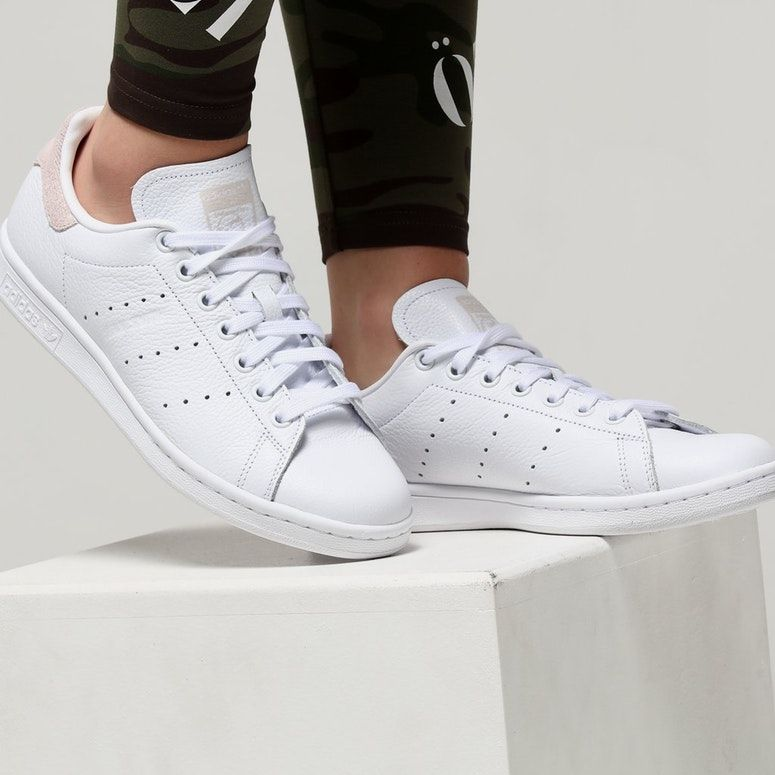 Adidas Women's Stan Smith White/Orchid
