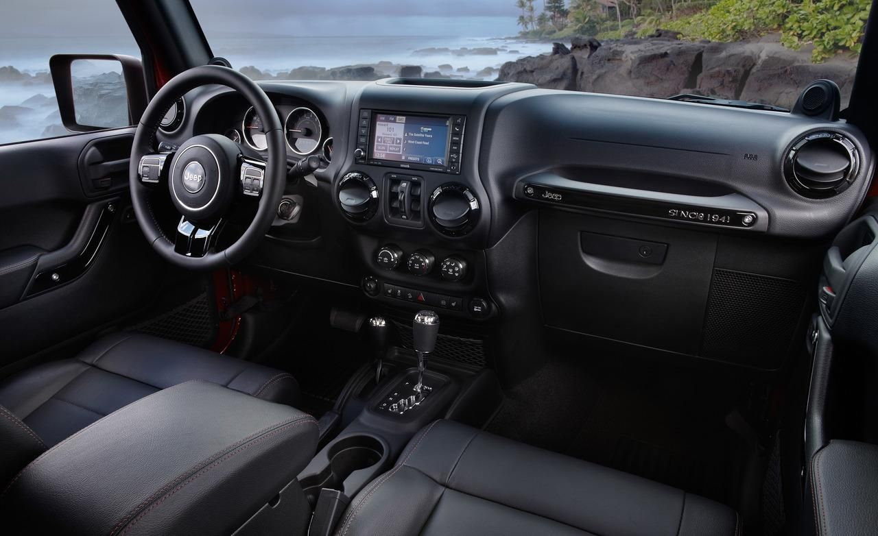 Jeep Announces 2012 Wrangler Unlimited Altitude Edition Photos