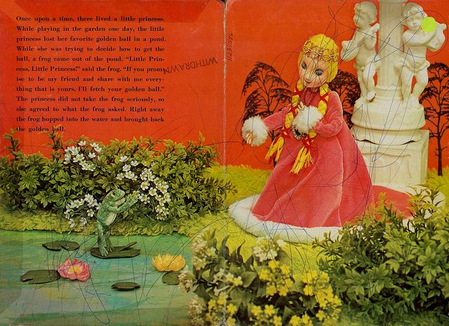 The Frog Prince puppet children's story book pg 1 | Flickr – Compartilhamento de fotos!