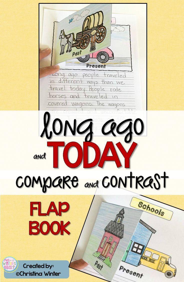 Long Ago Informative Writing & a FREEBIE